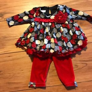 Bonnie Baby dressy pant outfit